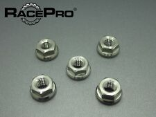 RacePro - Yamaha YZF R6 99-01 - x5 Titanium Rear Sprocket Nuts - Natural