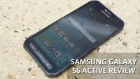 Brand New in Box Samsung Galaxy S6 active SM-G890A - 32GB Unlocked Smartphone