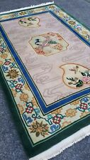 vintage chinese rug-stunning old  shabby chic art deco rug