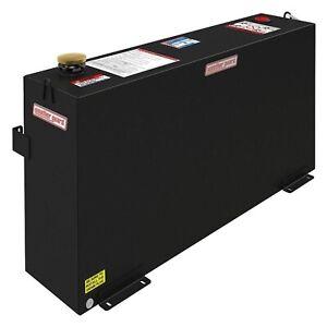 359-5-01 Weather Guard Transfer Fuel Tank 50 Gallon Black Steel Rectangle Shape