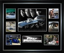 Fast 4 Limited Edition Framed Memorabilia