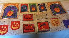 HALLOWEEN Candy Trick Or Treat Bag Fabric PANEL by Kari Pearson Kids for S.S.I