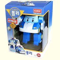 Robocar Poli Police Poli Robot Transformer Car Toy Figure Action Korean TV -Nu