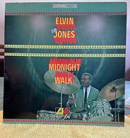Elvin Jones-Midnight Walk 1967 ~Atlantic Records Stereo SD1485/laminated Cover!