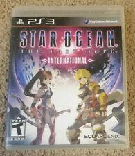 Star Ocean The Last Hope International Sony PlayStation 3, 2010 PS3 Complete CIB