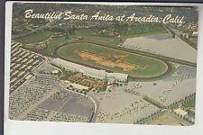 Aerial View Santa Anita Horse Race Track Arcadia CA Cal California