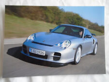 Porsche 911 GT2 press photo c2003 German text