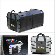 Gray TDPRO Folding Car Boot Trunk Rear Cargo Organizer Storage Bag Van Holder