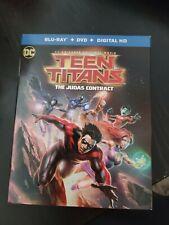 New listing Teen Titans: The Judas Contract (Blu-ray Disc, 2017, 2-Disc Set) No Digital