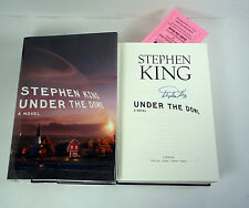 STEPHEN KING SIGNED AUTOGRAPH UNDER THE DOME 1ST EDITION/1ST PRINT HC BOOK PROOF