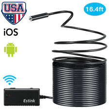 Wireless HD 720P Waterproof WIFI Camera Inspection Endoscope For iPhone Android