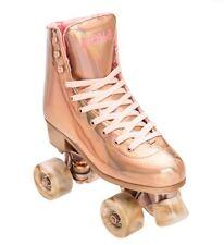 New! Impala Marawa Rose Gold roller skates size 9 Vegan (moxi lolly beach bunny)