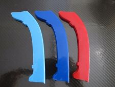 M Power Color Grills Stripes ABS Plastic For BMW E90 325i 335i 328i 2009-2011