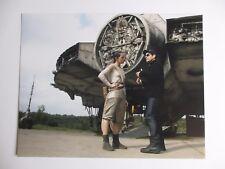 JJ ABRAMS SIGNED 11x14 PHOTO DC/COA STAR WARS THE FORCE AWAKENS W/ DAISY RIDLEY