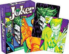 THE JOKER - PLAYING CARD DECK - 52 CARDS NEW - BATMAN DC COMICS VILLAIN 52269