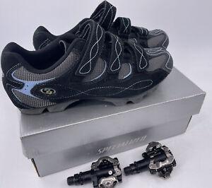 Specialized Riata MTB Mountain Bike Cycling Shoes Black Women's US 10.5 / EU 42