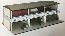 Grandstand W/Vip Lounge + Pits Ho Slot Car Building Aurora Bauer Laser Cut Model