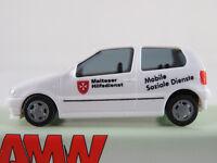"AMW 72141 VW Polo III (1994) ""MHD / Mobile Soziale Dienste"" 1:87/H0 NEU/OVP"