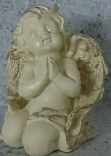 Weihnachten Deko Weihnachtsschmuck betender Engel Polyresien 15,5*13cm