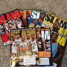 Slam Basketball Magazine Lot- includes Slam #2 and Lebrons first cover!