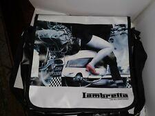 *LAMBRETTA* Carnaby Street London ●SCOOTER● Design Messenger Laptop Tablet Bag