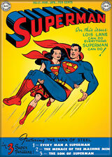 DC Comics Photo Quality Magnet: Superman #57 Cover Reproduction