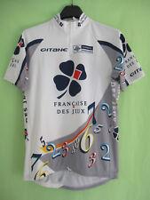 Maillot cycliste Francaise jeux FDJ jersey Cycling Shirt Gitane shimano - XL