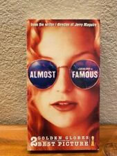 Vhs Tape Almost Famous Cameron Crowe, Kate Hudson