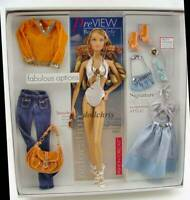 2005 South Beach Barbie Doll on Location Best Models Gift Set Model Muse NRFB