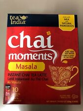 Tea India Chai Moments Instant Chai Latte - Masala Chai Free SHIPPING FROM USA!
