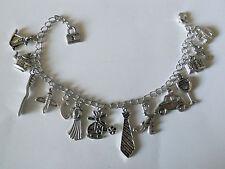 Pulsera inspirada 50 sombras de Grey 50 shades inspired charm bracelet