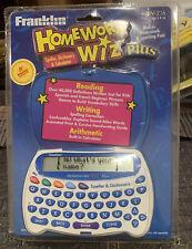 Brand New - Franklin Homework Wiz Plus HW-216 SEALED!!