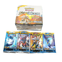 324pcs Pokemon cards TCG: Sun & Moon Edition 36 Packs Per Box Collectible Tradin