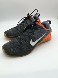 Size 10.5 - Nike Metcon 2 Flyknit DSX Black EXCELLENT CONDITION FRESHLY WASHED