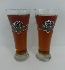 Set of 2 New Indianapolis Motor Speedway Beer Glass 500