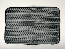 Fendi Ff jacquard Midnight Navy Blue Canvas Baby Changing Pad