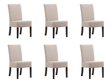 6x Chair Set Pads Seat Chairs Set Waiting Room Chancellery Practice Lounge Club