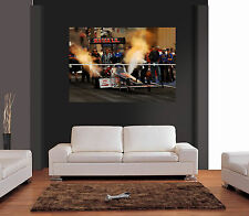TOP FUEL DRAGSTER FUNNY CAR Giant Wall Art Print Picture Poster