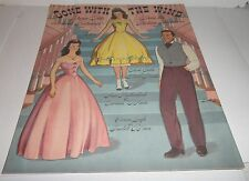 GONE WITH THE WIND PAPER DOLLS [50th Anniversary Special, Uncut]
