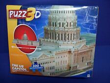 Hasbro PUZZ  3D PUZZLE 300 PC  - THE CAPITOL BUILDING NISB new Age 12+