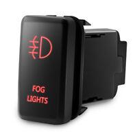 12V Car Push Switch RED LED Fog Light On/Off Button for Toyota FJ Cruiser Tacoma