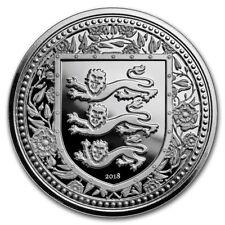 GIBRALTAR 1 Pound Argent Blason 1 once 2018