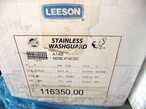 Leeson Stainless Washguard Motor 116350.00