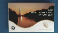 2018~S UNITED STATES MINT PROOF SET W/ MINT BOX ~ COA (10 COIN)