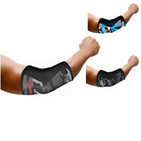 Elbow Sleeves PAIR Support & Compression for Weightlifting Power-lifting 5mm