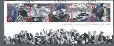 Guernsey-Liberation Anniv min sheet 1995-World War II-Military