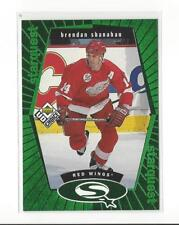 1998-99 UD Choice StarQuest Green #SQ9 Brendan Shanahan Red Wings