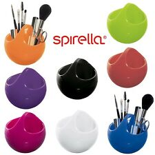 Round Make Up Cosmetic Brush Holder Organiser Vanity Storage Stand Basket Pot