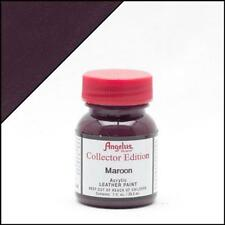 Angelus Leather Paint Collector Edition Maroon 1oz Colour for Shoes/Sneakers
