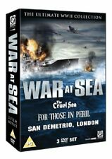 War At Sea Box Set (The Cruel Sea, For Those In Peril and San Demetrio) [DVD]